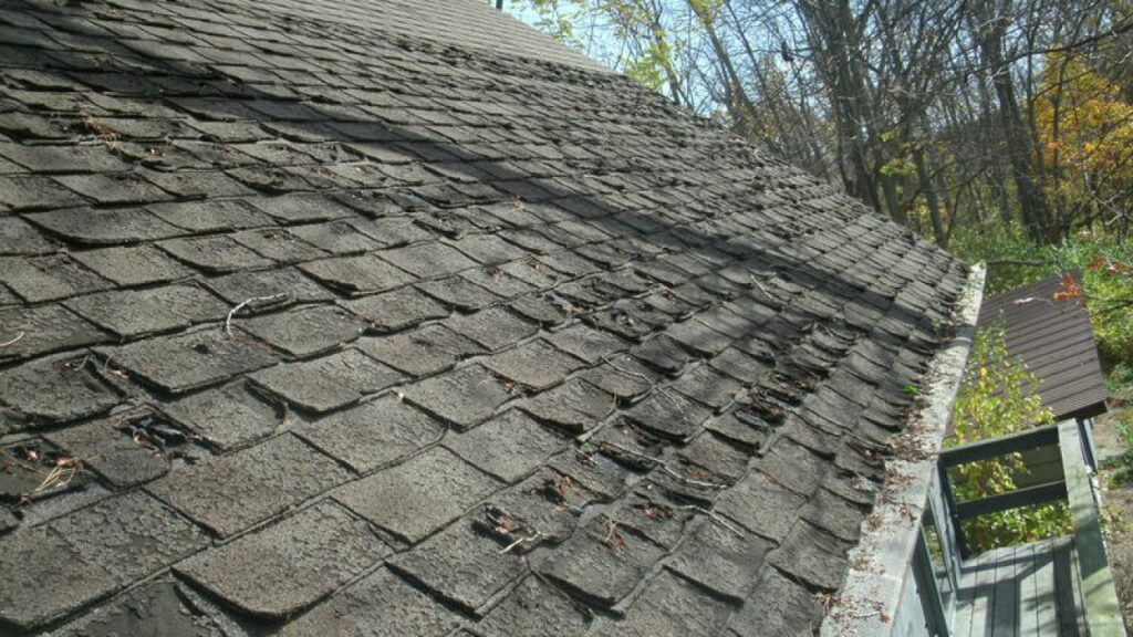 Damage From Trapped Moisture - Top 7 Spring Roofing Problems