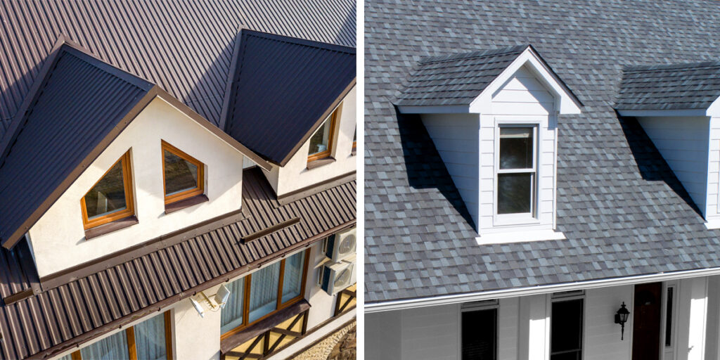 Metal and Slate Roofing