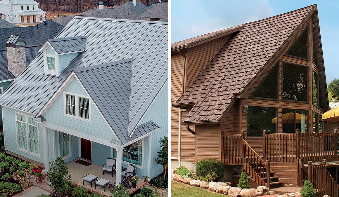 Metal vs. Slate Roofing